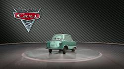 3D Обзор Сэра МПрофессор Цундапп из мультфильма Тачки 2 машинкиайлза Карданвала из мультфильма Тачки 2