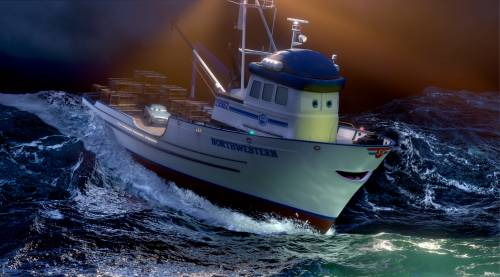 Финн МакМисл и кораблик кребби машинка тачки 2